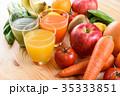 野菜ジュース スムージー 野菜 ナチュラルテーブル ハイコントラスト 35333851