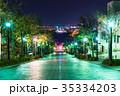《北海道》函館・八幡坂の夜景 35334203