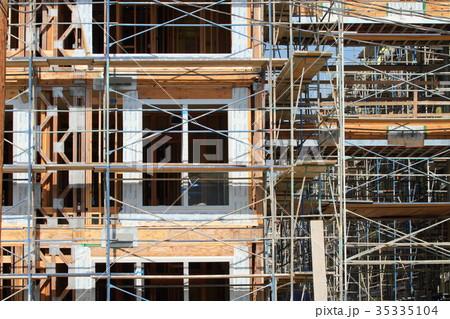 アメリカの建築現場 35335104