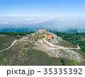 Aerial View High Fog Near Santuario da Peninha 35335392