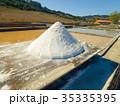 Production of Salt by Evaporation Saline 35335395