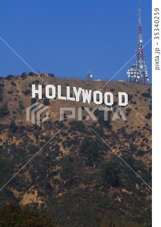 ハリウッドサイン 35340259
