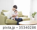 親子 母親 赤ちゃんの写真 35340286
