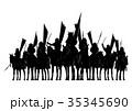 戦国時代の騎馬隊 35345690