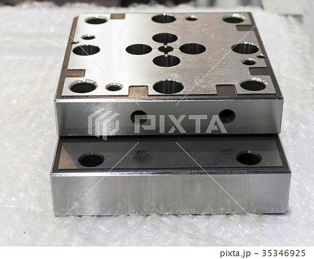 metal parts for  tooling manufacturingの写真素材 [35346925] - PIXTA
