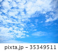 雲 羊雲 空の写真 35349511