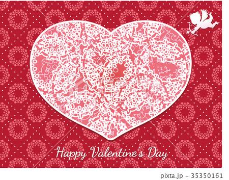 バレンタインカード 35350161
