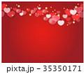 バレンタイン バレンタインデー ベクターのイラスト 35350171