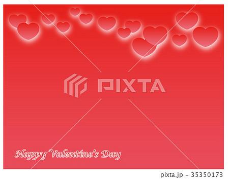 バレンタイン背景イラストレーション 35350173