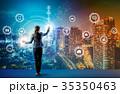 IoT ネットワーク テクノロジーの写真 35350463