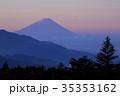 朝焼けと富士山 35353162