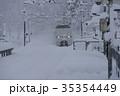 北陸本線 列車 冬の写真 35354449