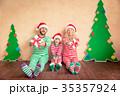 クリスマス ファミリー 家庭の写真 35357924