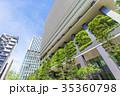 ビル オフィスビル 緑化の写真 35360798