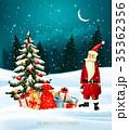 ベクター 休日 クリスマスのイラスト 35362356