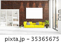 額縁 立体 3Dのイラスト 35365675
