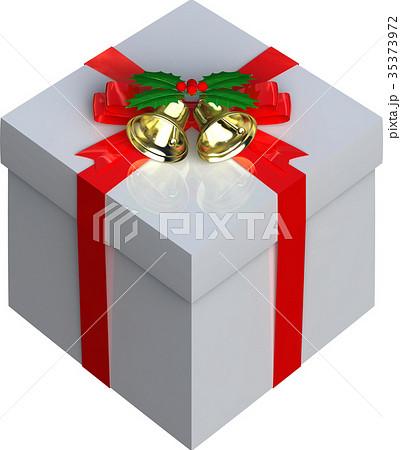 クリスマスプレゼントボックスの切り抜きのイラスト素材