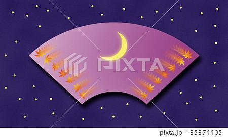 三日月と秋の彩り(4) 35374405