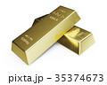 金 黄金 金色のイラスト 35374673