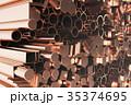 紅 銅 プロファイルのイラスト 35374695