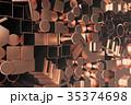 紅 銅 プロファイルのイラスト 35374698