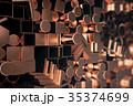 紅 銅 プロファイルのイラスト 35374699
