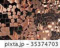 紅 銅 プロファイルのイラスト 35374703