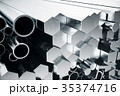 金属 鉄鋼 円柱形のイラスト 35374716