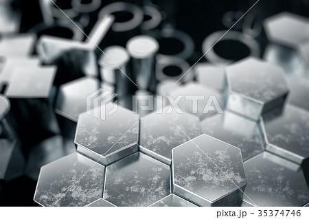 Cylindrical metal steel profiles, hexagonal metal 35374746