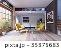Modern interior rendering 35375683