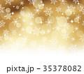 雪 結晶 背景のイラスト 35378082