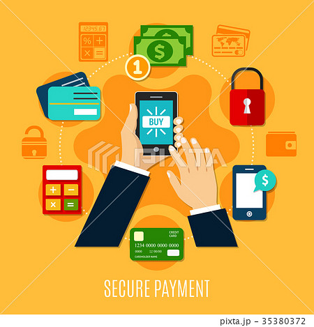 Secure Payment Round Composition 35380372