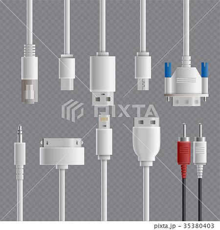 Cable Connectors Transparent Set 35380403