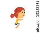 子供 女の子 女子のイラスト 35382261