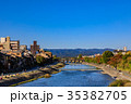 京都 風景 青空の写真 35382705
