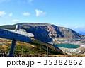 蔵王 御釜 山の写真 35382862