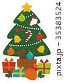 クリスマスツリー 35383524