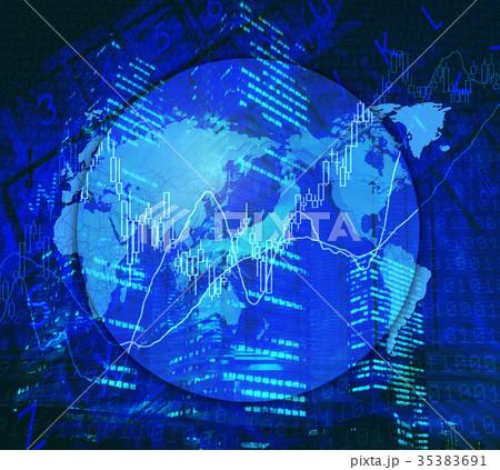 世界の株式市場 35383691