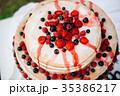 Blueberry currant crimson cake 35386217
