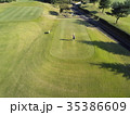 ゴルフをする女性 35386609