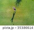ゴルフをする女性 35386614