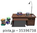 机 インテリア CGのイラスト 35396738