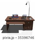 机 インテリア CGのイラスト 35396746