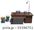 机 インテリア CGのイラスト 35396751