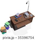 机 インテリア CGのイラスト 35396754