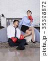 格闘技 無表情 人の写真 35398872