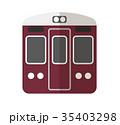 ベクター 電車 鉄道のイラスト 35403298