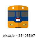 ベクター 電車 鉄道のイラスト 35403307