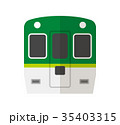 ベクター 電車 鉄道のイラスト 35403315