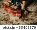 クリスマス パーティー カップルの写真 35403579